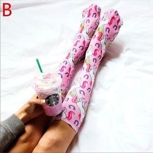 Accessories - ‼️LAST PAIR‼️ 5⭐️RATED⭐️ 🎉HP🎉 Unicorn Knee Socks